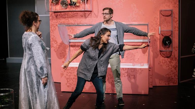 Från repetitionerna av Figaros bröllop. Foto: Alexandra A Ellis.