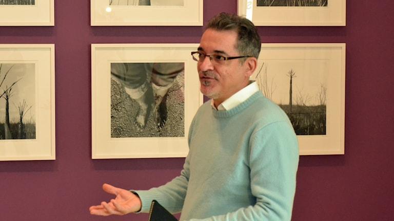 Antonio Eligio, även känd som Tonel. Foto: Peter Öberg, Sveriges Radio.