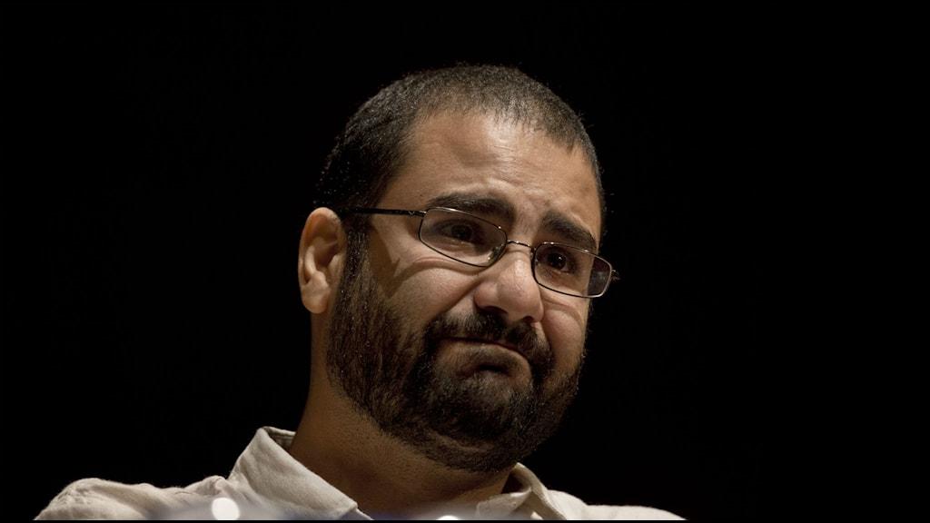 Alaa Abdel Fattah. Foto: Nariman El-Mofty/TT
