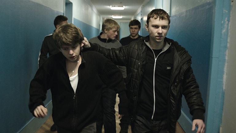 En bild från den hyllade ukrainska filmen The Tribe. Foto: Filmbolaget