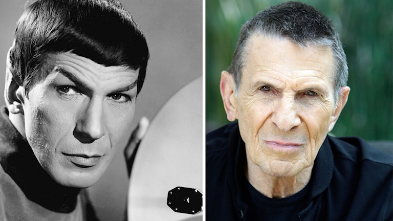 "Leonard ""Spock"" Nimoy. Foto: Wikimedia commons/TT"