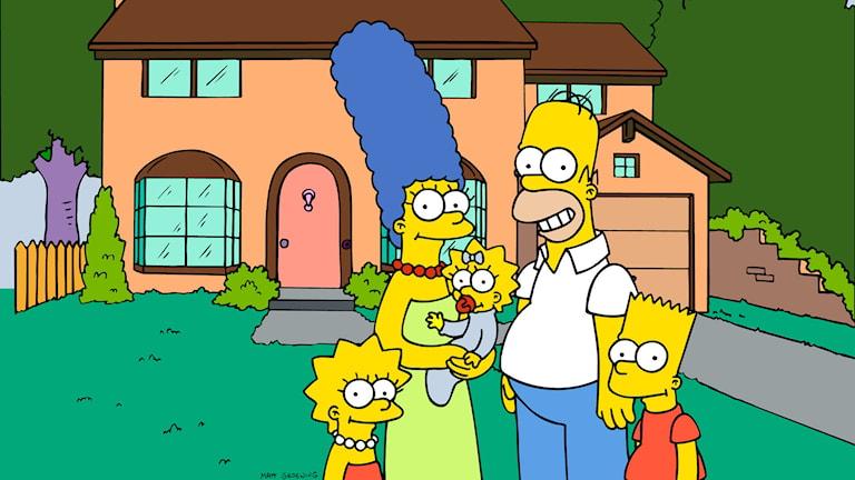 The Simpsons. Foto: TT / Fox Broadcasting