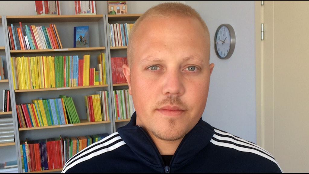Sebastian Stakset aktuell med självbiografi. Foto: Karin Forsmark/SR