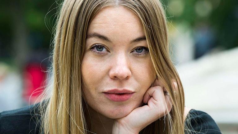 Förattaren Karolina Ramqvist Foto: Claudio Bresciani / TT