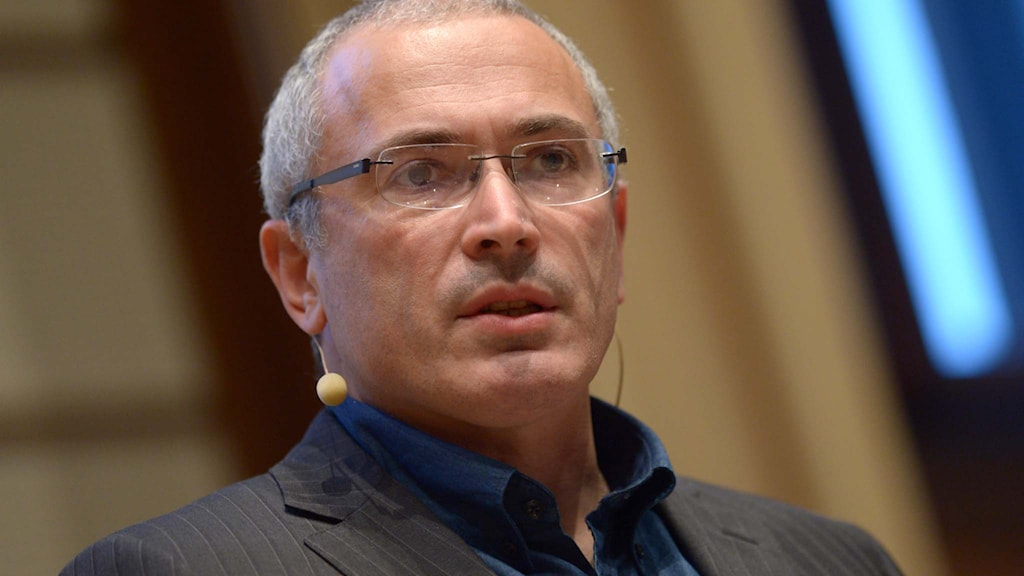 Michail Chodorkowski. Foto: Rainer Jensen/picture-alliance/dpa/AP Images/TT