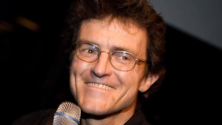 Fotografen Lars Tunbjörk i decmeber 2008. Foto Maja Suslin / TT