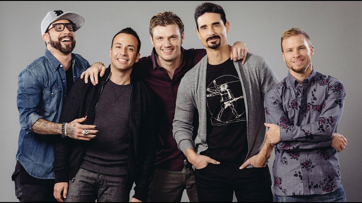 Backstreet Boys 2015. Bandets över 20 år långa resa har blivit dokumentär med premiär ikväll. Foto:Casey Curry