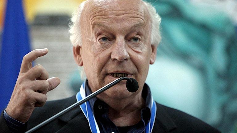 Författaren Eduardo Galeano. Foto: AP Photo/Ginnette Riquelme