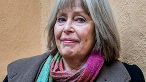 Författaren Agneta Pleijel är aktuell med sin självbiografiska roman 'Spådomen. En flickas memoarer'. Foto: Nora Lorek / TT