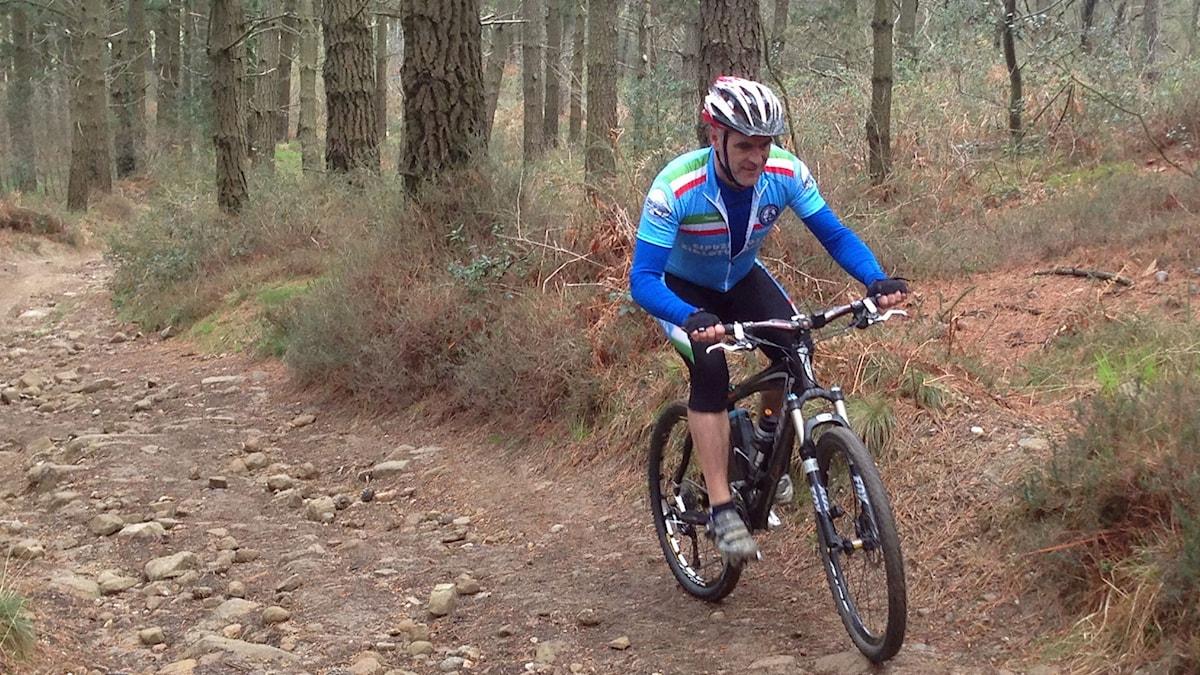Ordet mountainbike får en djupare mening