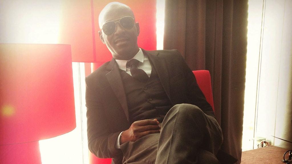 """Dare Fasasi blev Sveriges förste Nollywoodregissör med sin komedi """"Head Gone"""". Foto: Tali da Silva"""