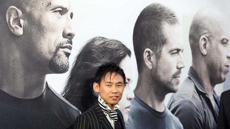"""Fast & Furious 7""-regissören James Wan. Foto: Matt Sayles/Invision/AP"