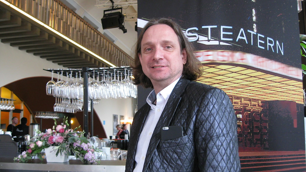 Pontus Stenshäll är konstnärlig ledare för Göteborgs stadsteater.