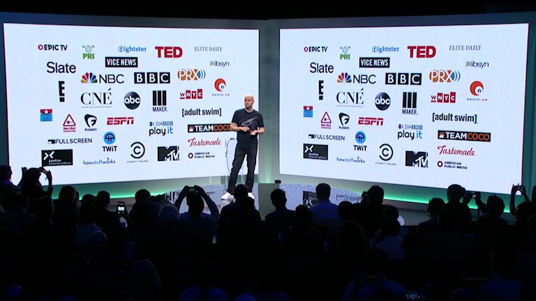 Spotify och deras partners. Foto: Spotify Media Stream