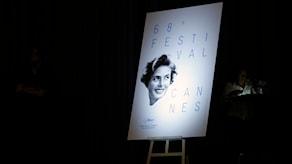 Ingrid Bergman på Cannes-affisch. Foto: Thibault Camus/AP