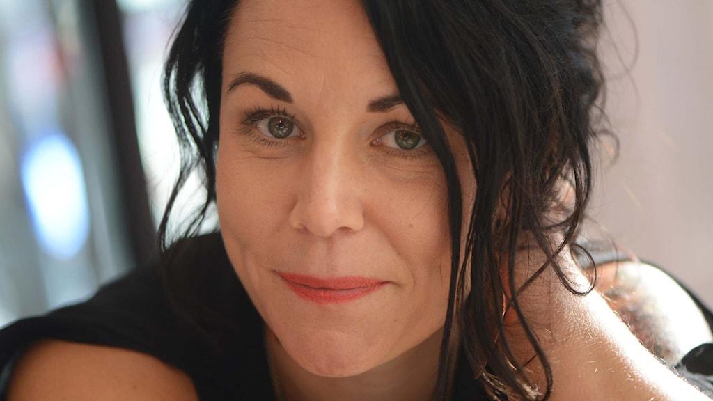 Författaren och journalisten Maria Sveland. Foto: Fredrik Sandberg / TT