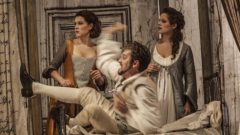 Mozarts Figaros bröllop på Drottningholms Slottsteater
