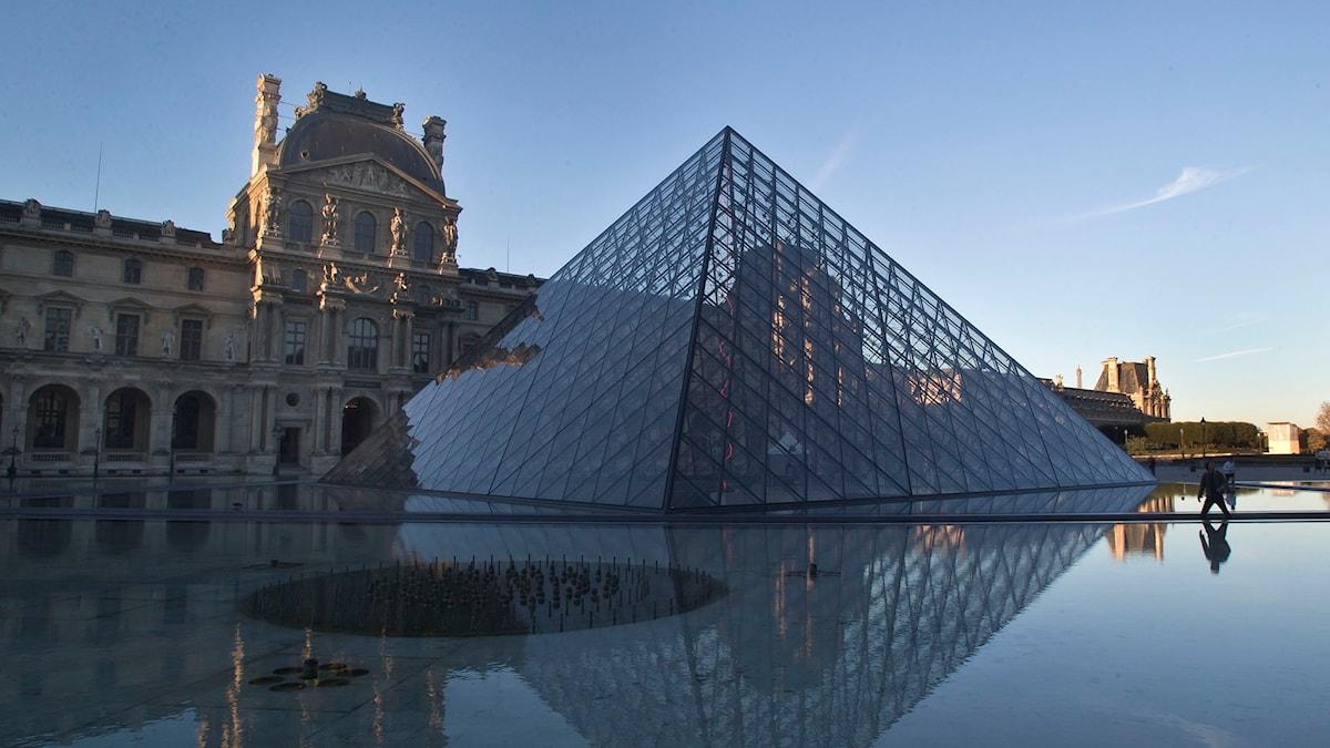 Louvren i Paris. Foto: Michel Euler/AP/TT