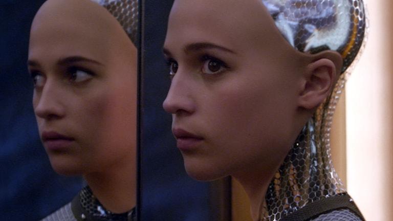 """Alicia Vikander i """"Ex machina"""". Foto: Universal Pictures"""