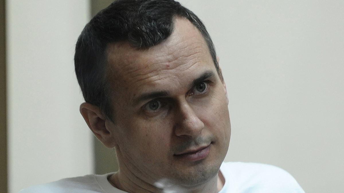 Oleg Sentsov. Foto: AP/TT.