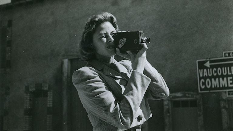 """""""Jag är Ingrid"""" bygger bland annat på Ingrid Bergmans egna filmer. Bild: Nonstop"""