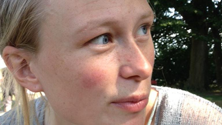 Signe Gjessing. Foto: Naila Saleem/Sveriges Radio.