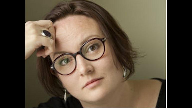 Författaren Jessica Schiefauer. Foto: Hillevi Nagel.