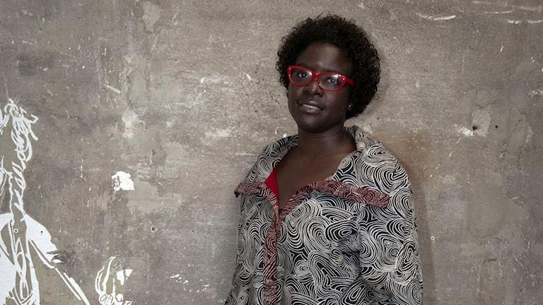 Elvira Dyangani Ose, curator på Göteborgs internationella konstbiennal. Foto: Attila Urban.