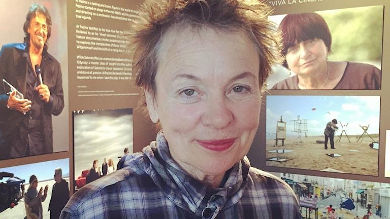 Laurie Anderson. Foto: Lisa Bergström/Sveriges Radio