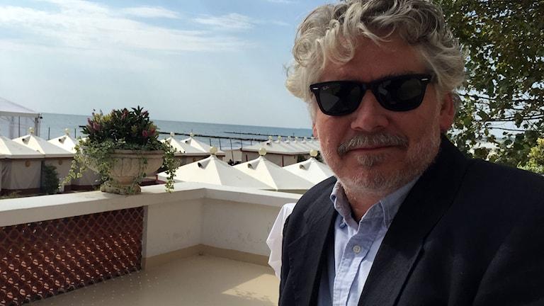 Daniel Alfredson i Venedig. Foto: Lisa Bergström/Sveriges Radio