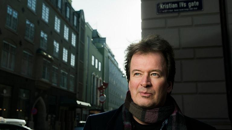 Kjell Westö fick litteraturpriset 2014. Foto:  Foto: Berit Roald / NTB / TT.