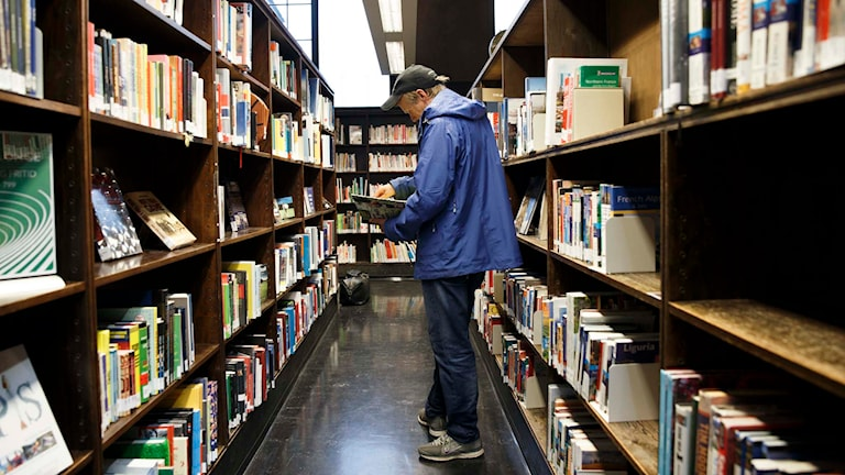 Bibliotek. Foto: Berit Roald / NTB scanpix / TT