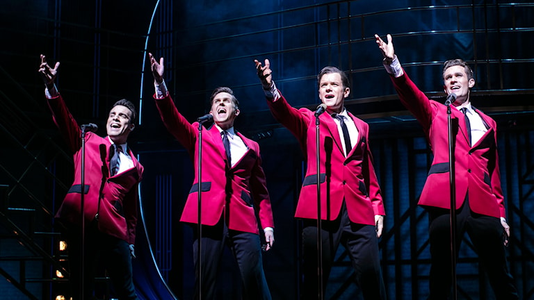 Jersey Boys på Chinateatern