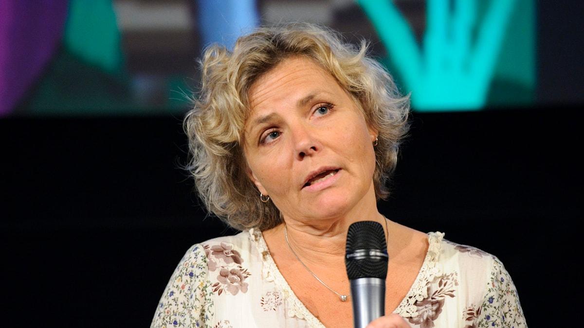 Anna Serner, vd Svenska filminstitutet. Foto: Henrik Montgomery/TT.
