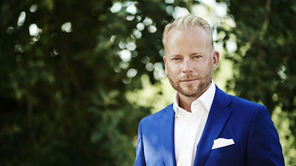 Olof Lavesson (M), ordförande i riksdagens kulturutskott. Foto: Charlotte Strömvall