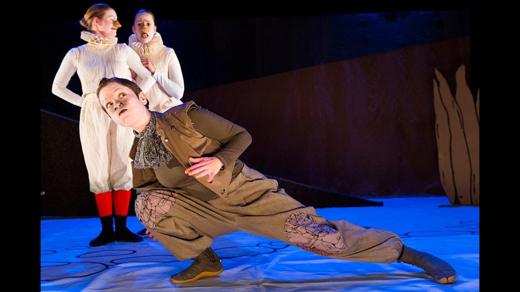 Guji Guji sätts upp av Boulevardteatern. Foto: Martin Skoog.