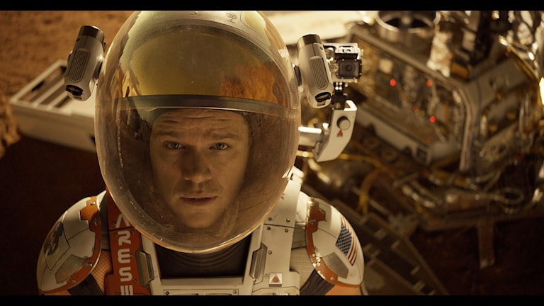 Matt Damon i The Martian. Foto: Aidan Monaghan/TT