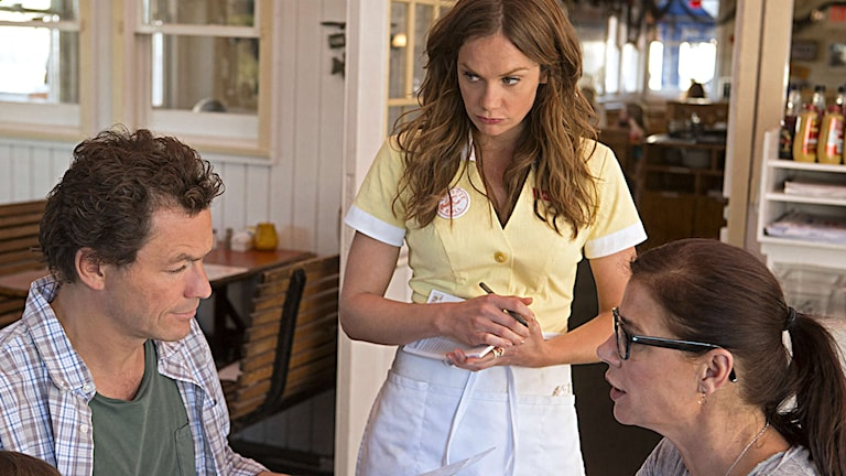 Dominic West, Ruth Wilson och Maura Tierney i otrohetsdramat The Affair. Foto: HBO Nordic.