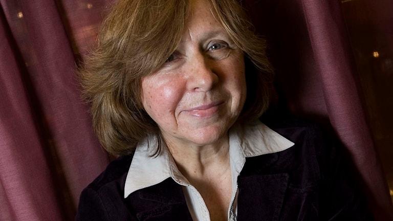 Den belarusiska författaren Svetlana Aleksijevitj. Foto: Dan Hansson / SvD / SCANPIX