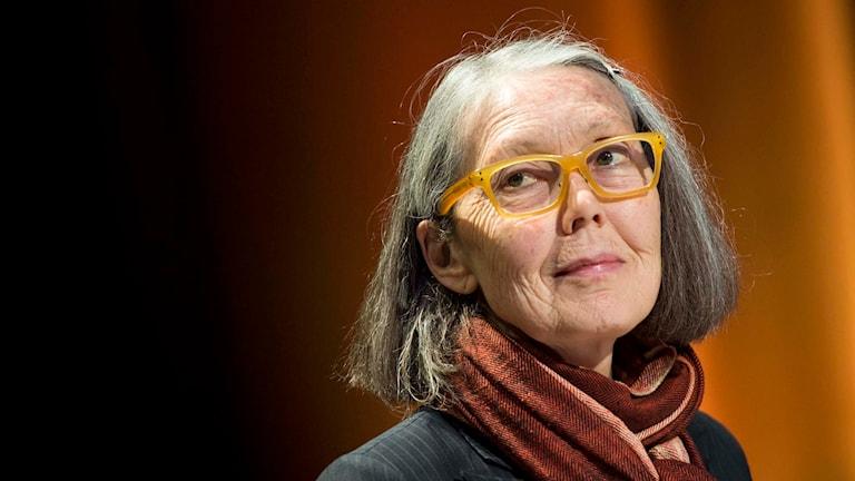 Kanadensiska poeten Anne Carson. Foto: Pontus Lundahl / TT