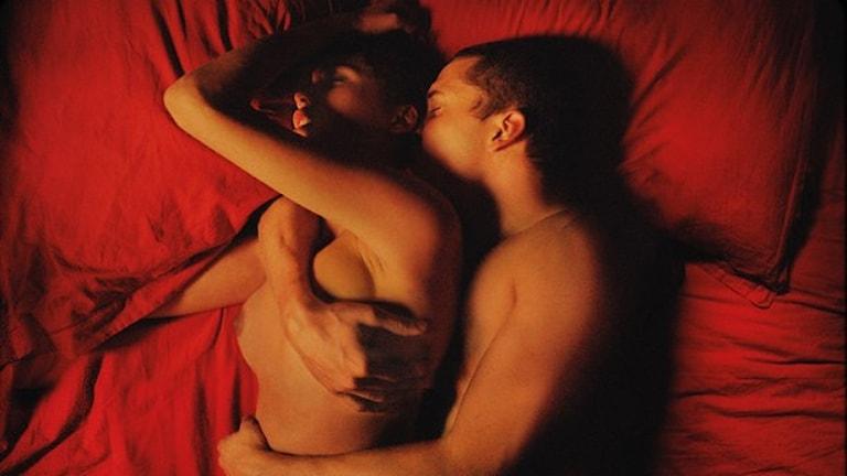 Bild ur filmen Love av Gaspar Noé. Foto: Festival de Cannes.