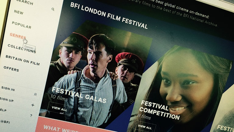 BFI Player på brittiska filminstitutets hemsida.