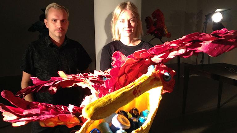 Hans Berg och Natalie Djurberg ställer ut på Århus konstmuseum