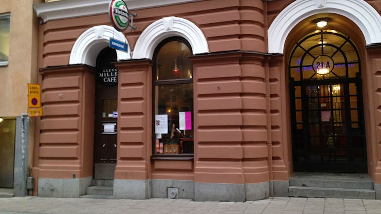 Glenn Miller Café på Brunnsgatan i Stockholm. Foto: Berit Nygren/SR
