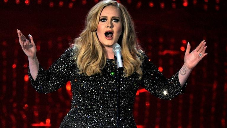 Sångerskan Adele. Foto: Chris Pizzello / AP / TT
