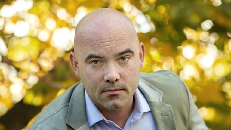 Den amerikanske författaren Philipp Meyer. Foto: Leif R Jansson / TT