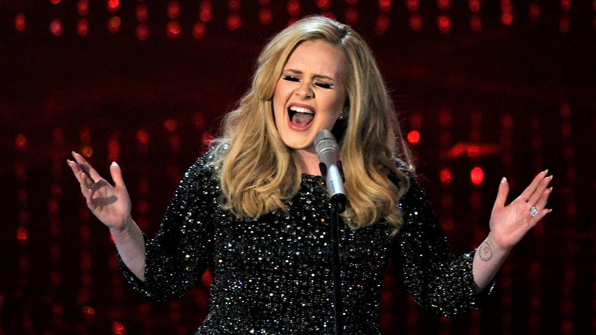 Sångerskan Adele. Foto: Chris Pizzello/AP/TT