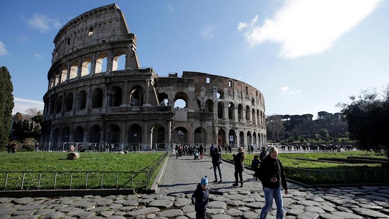 Colosseum i Rom. Foto: Gregorio Borgia/AP/TT.