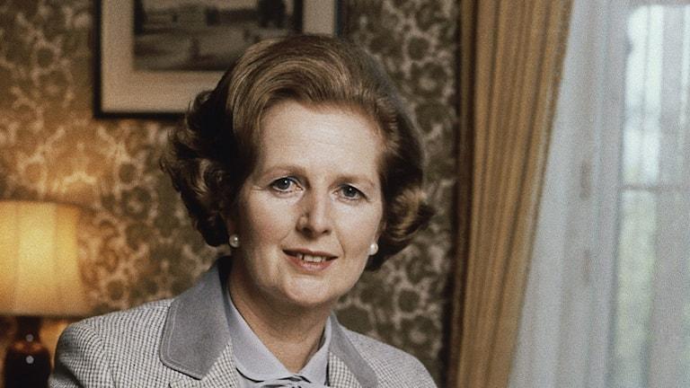 Margaret Thatcher. Foto: Gerald Penny/AP/TT