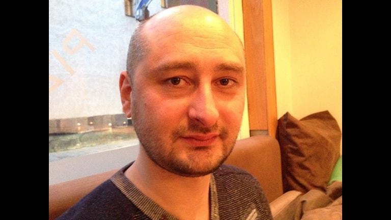 Arkadi Babtschenko Foto: Fredrik Wadström